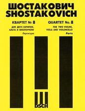 String Quartet No. 8 Op. 110 Parts NEW 050484253