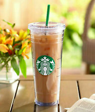 Starbucks Venti Clear Double Wall Acrylic Cold Cup Tumbler 24 oz