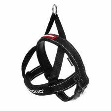"""NEW EZYDOG QuickFit Harness Black XXS 9-15"""" Neck, 12-15"""" Girth Easy and Fast!"""