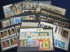 Collection of Stamps on 10 Stock Cards: QU'AITI, MAHRA, KATHIRI STATES #4634