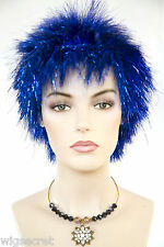 Spike Exotic Glamorous Look Medium Straight Fun Color Costume Wigs