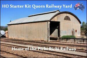 HO SCALE AUSTRALIAN MODEL RAILWAY STARTER KIT – QUORN RAILWAY YARD  #1