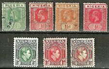 NIGERIA 1902-1940 Regular Issues - Early 20th Century Stamps WYSIWYG