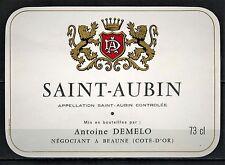 Etiquette de Vin - Bourgogne - Saint-Aubin - New - Never Stuck - Réf.n°82