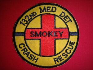Korea War Patch US 132nd Medical Detachment SMOKEY CRASH RESCUE