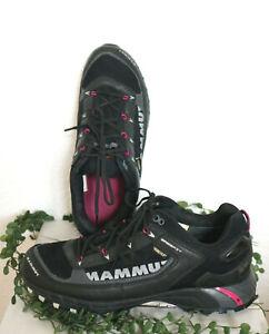 ★ MAMMUT ★ Sneaker Outdoor Trekking 41 eher 40 schwarz SOFT SHELL GORE-TEX TOP