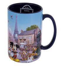 Disney Parks Epcot France Mickey Minnie & Friends Paris Ceramic Coffee Mug
