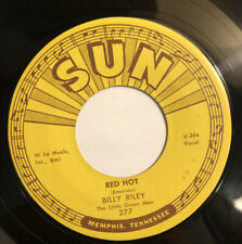 BILLY RILEY ~ RED HOT / PEARLY LEE ~ SUN RECORDS 277 ~ ROCKABILLY 45