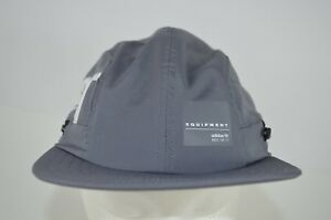 NWT Adidas Originals EQT 4 Panel Hat Sun Blocker Gray Youth Size