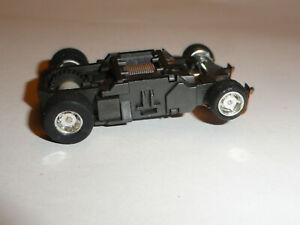 TYCO 440X2 HO SLOT CAR SLIM CHASSIS CHROME RIMS NEW TIRES EXCELLENT CONDITION