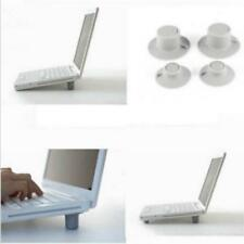 Handy 4Pcs Cooling Skidproof Pad Cooler Stand Feet Pad for Laptop Macbook Air LA