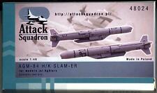 Attack Squadron Models 1/48 U.S. AGM-84 H/K SLAM-ER HARPOON MISSILE
