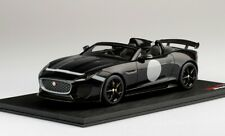 Jaguar F-Type Project 7 Black Top Speed TRUE SCALE MINIATURES 1:18 TS0168