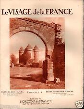 ▬► BERRY_NIVERNAIS_SOLOGNE  de 1926 LE VISAGE DE LA FRANCE, HORIZONS DE FRANCE