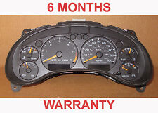 2004  Chevrolet S10 Blazer Jimmy Instrument Cluster Gauges - 6 Month warranty