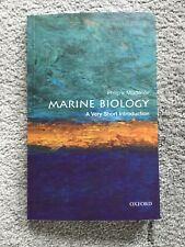 Marine Biology: A Very Short Introduction New Paperback Book