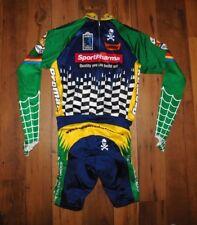 Primal Wear Sport Pharma Racing Team Full Cycling Suit Bib size L Longsleeve