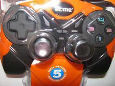 Acme USB game pad w/ 6 fire buttons 2 joysticks compatible w/ Windows