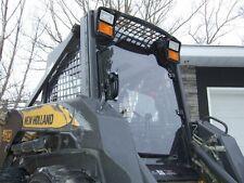 "1/2"" LEXAN NEW HOLLAND DOOR + SIDE WINDOWS! Skid steer.bobcat cat  loader cab"