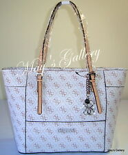 Guess Wristlet Hand Bag  Box Handbag Purse Wallet Satchel Tote Large shopper NWT