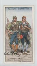 1925 Tobacco Base #6 Giuseppe and Marco Palmieri (The Gondoliers) Card 1x2