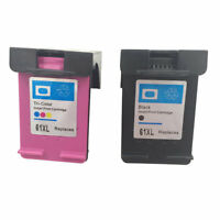 Ink Cartridges for HP 61 XL Envy 4500 4504 5530 Officejet 2620 4630 Printer YR