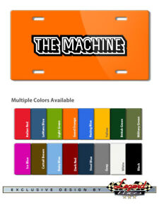 AMC Rebel The Machine Vintage Emblem Novelty 6X12 Alu. License Plate 16 Colors