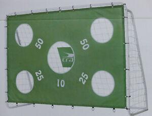 Großes stabiles Fußballtor mit Netz und Torwand, Tor 240 x 170 x 85 cm / NEU!