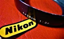 Nikon Lens Hood Shade for 28mm F3.5. Genuine-Nikon NOS.
