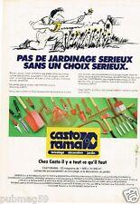 Publicité advertising 1980 Les Magasins de Bricolage Castorama