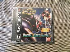 DIGIMON DIGITAL CARD BATTLE  PS1   NEW