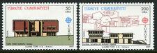 Turkey 2379-2380, MI 2777-2778, MNH. EUROPA CEPT. Architecture: Institutes, 1987