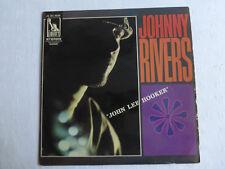 "johnny rivers-""john lee hooker""-LP 33 tours"