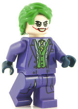 Lego DC Superheroes - HEATH LEDGER JOKER Minifigure - Dark Knight Tumbler 76023