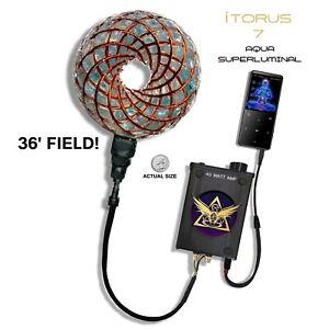 iTorus 7: Aqua Superluminal Therapeutic Vortex PEMF Tesla Healing Generator