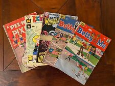 Vintage Comic Book Lot (5) 1963-1970