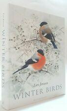 Winter Birds Lars Jonsson Swedish birding art illustrated ornithology book Hbk
