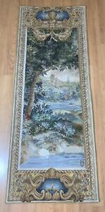 """Tapestries Ltd 73""""x28"""" Wall Tapestry Runner Long Hanging Woven Cityscape Scenic"""