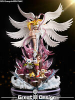 GD Digimon Adventure good Angewomon GK Collector Resin LED Painted Limit Statue