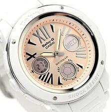 CASIO Baby-G BGA-152-7B2 Ladies Watch white pink Wristwatch Women Resin band New