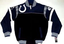 NEW! NFL Indianapolis Colts Embroidered Jacket Size S