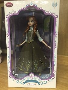 Disney Store Limited Edition Anna Doll - Frozen - 17''. New