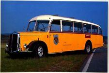 Cartolina Fotografica Saurer Alpenwagen L4C 50 P 1950 - Non Viaggiata