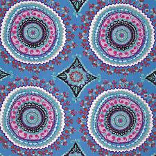 Dena Designs Haute Girls Large Circles Fabric in Black PWDF208 100% Cotton