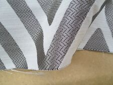 Carole Fabrics Pattern Diverge Color Silver Cloud 50 In x 26 In Geometric