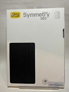 """OtterBox Symmetry 360 Case For Apple iPad Air 4th Gen 10.9"""" (Black/Clear)"""
