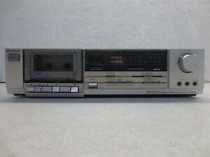 Hitachi D-E33 Stereo Cassette Tape Deck, Used