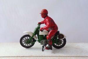 Vintage Britains 9691 Greeves Challenger Motorcycle Model Lot1