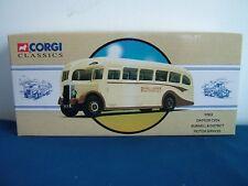 Corgi 97825 Daimler Cvd6 Coach Burwell & District Cambridge Boxed