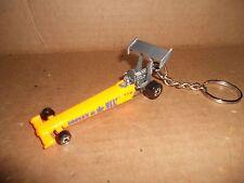 Dragster Nhra Drag Race Car Diecast Model Toy Car Keychain Keyring New Orange